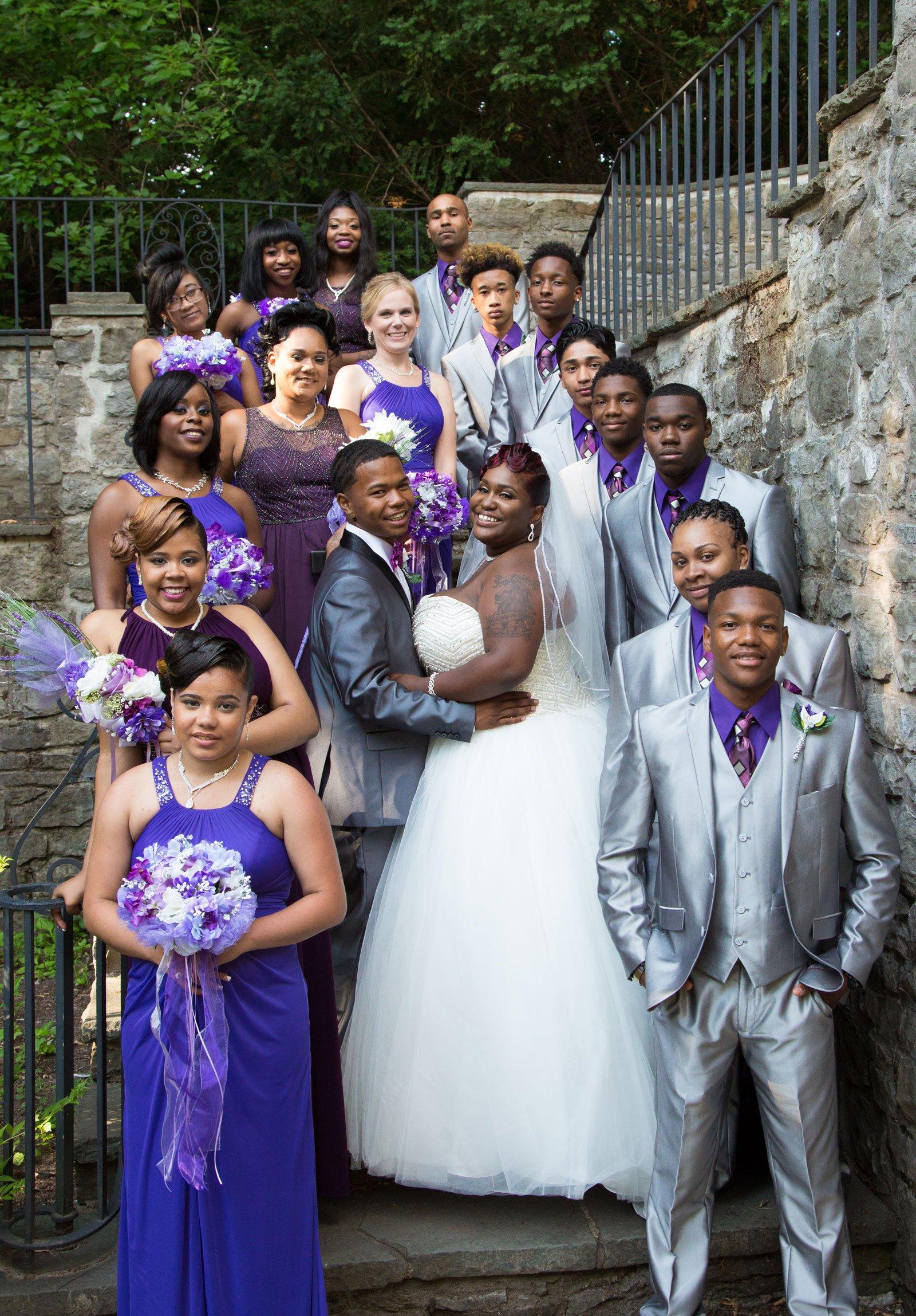 Rochester, NY Wedding wedding party