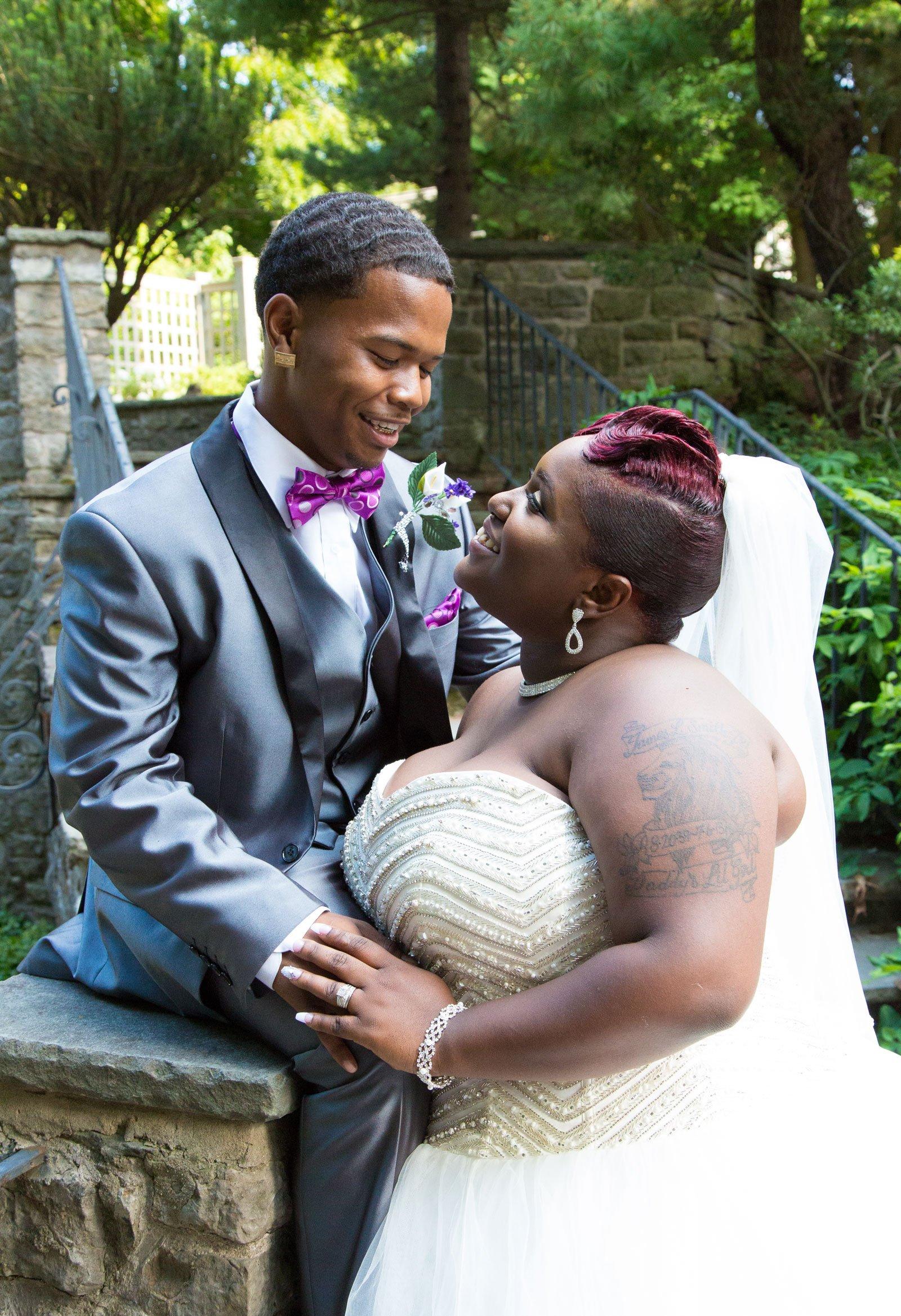 Rochester, NY Wedding happy couple
