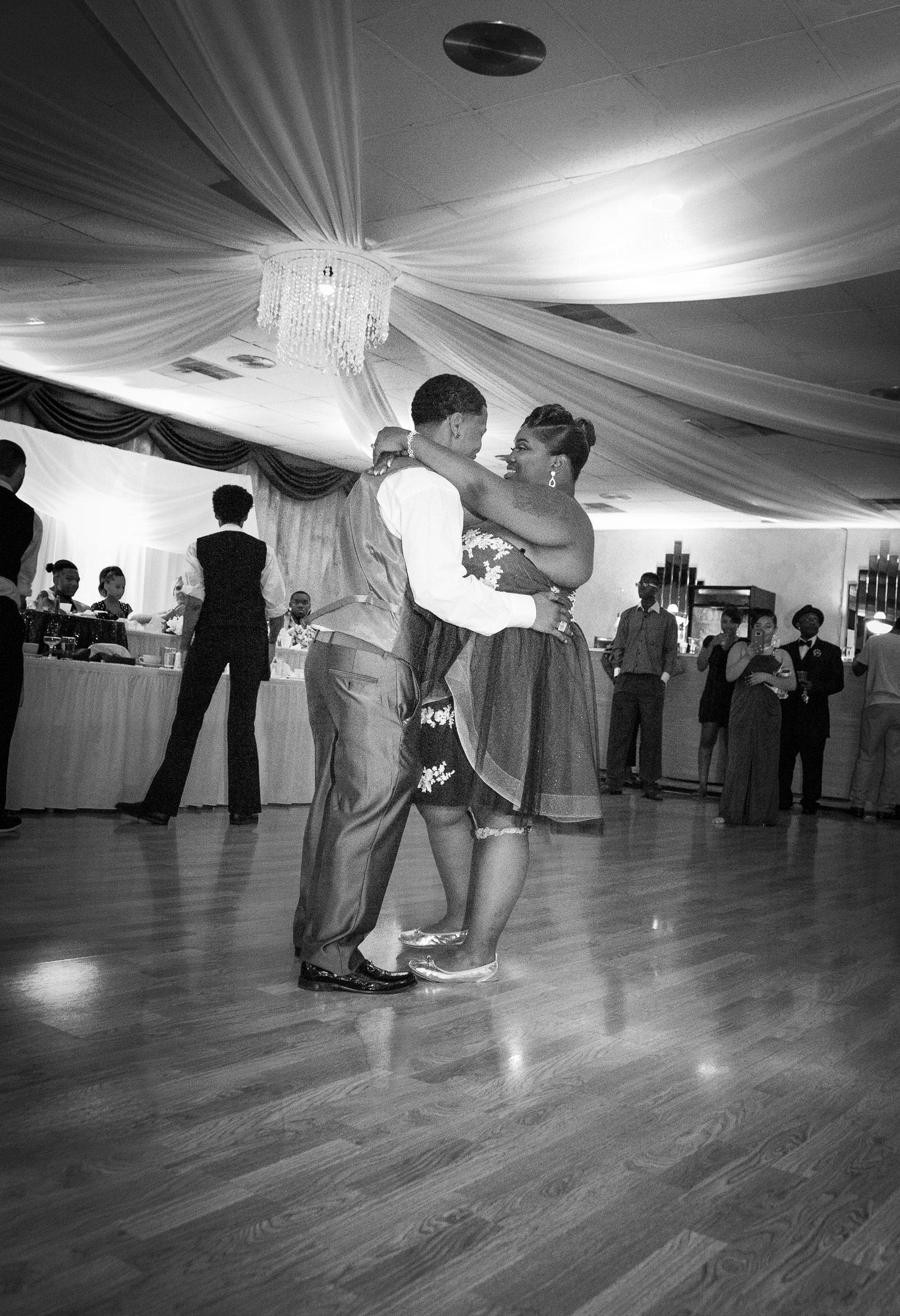 Rochester, NY Wedding reception dance