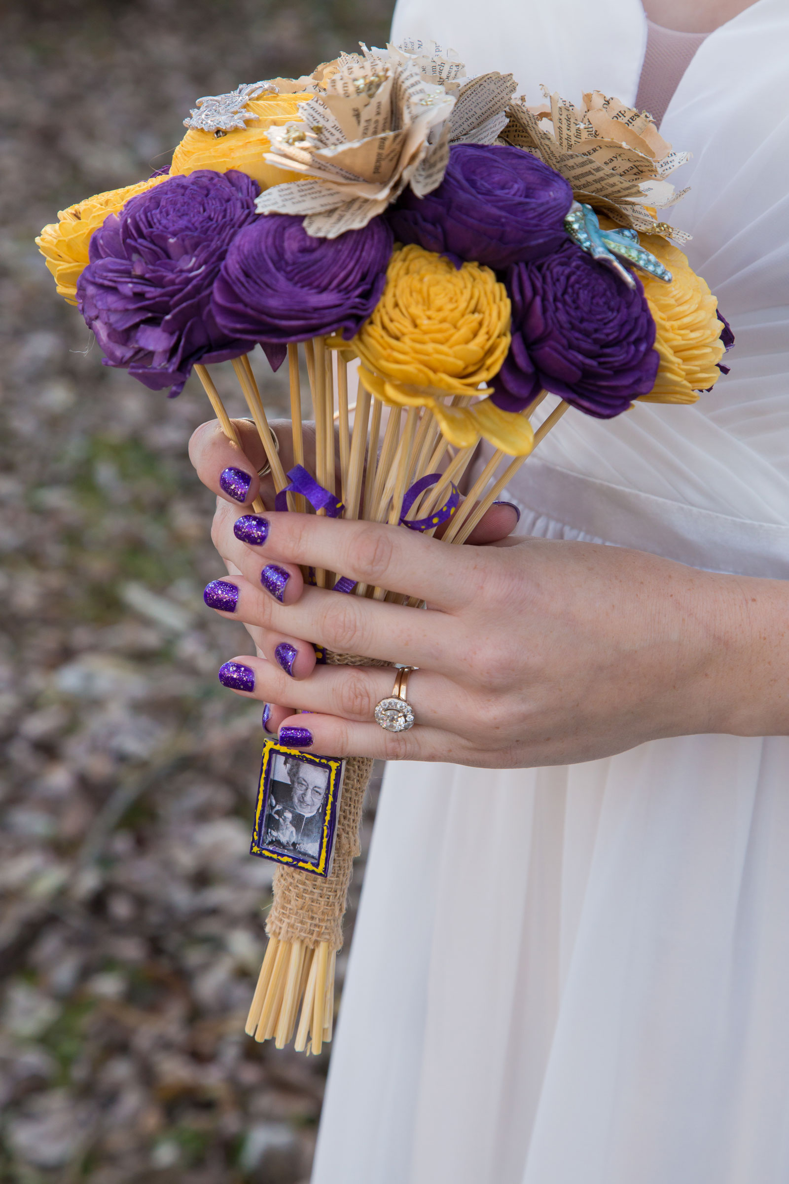Erie, PA Wedding bride bouquet