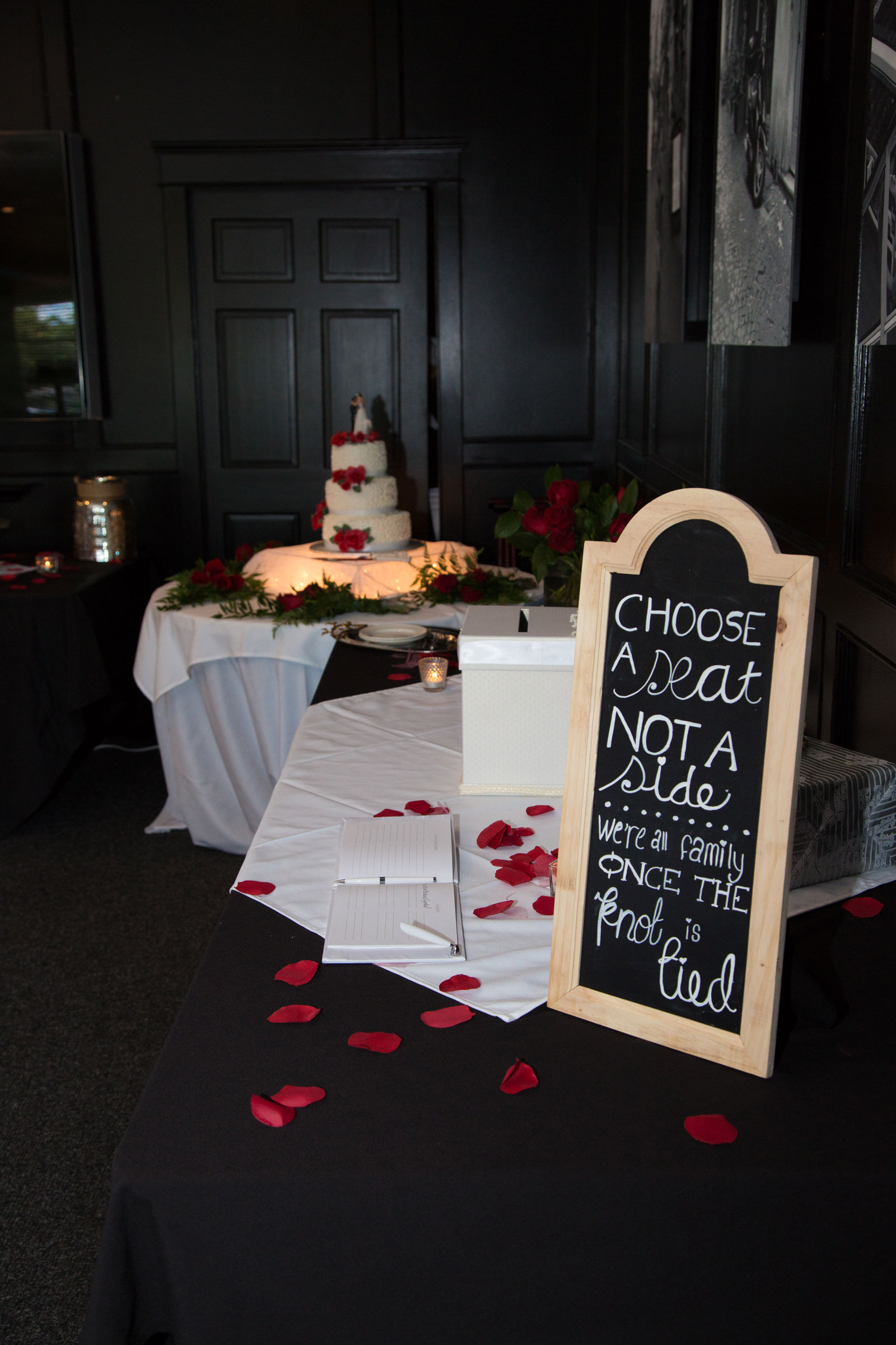 Williamsville, NY Wedding reception entrance