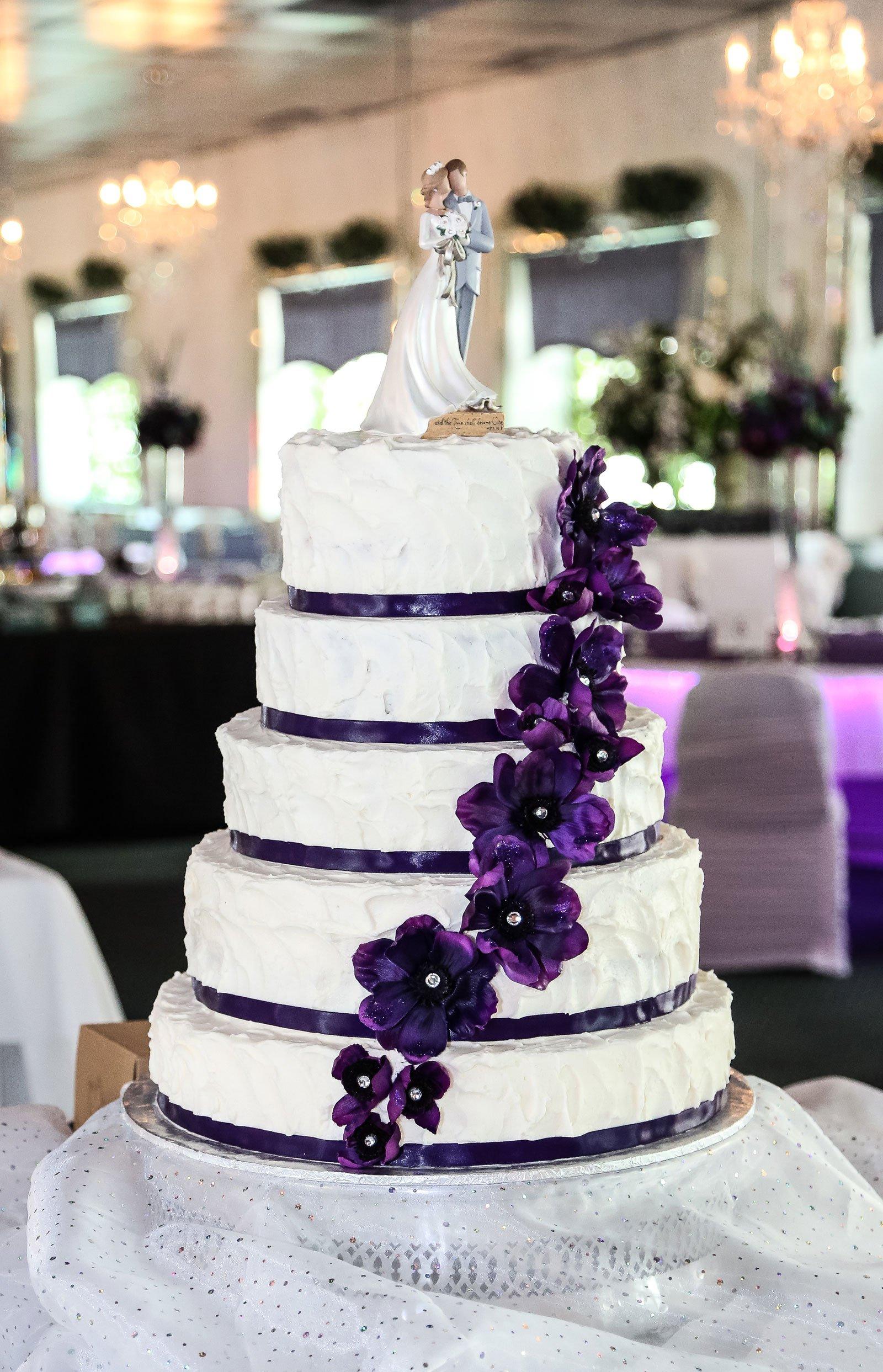 Buffalo, NY Wedding Reception Wedding Cake