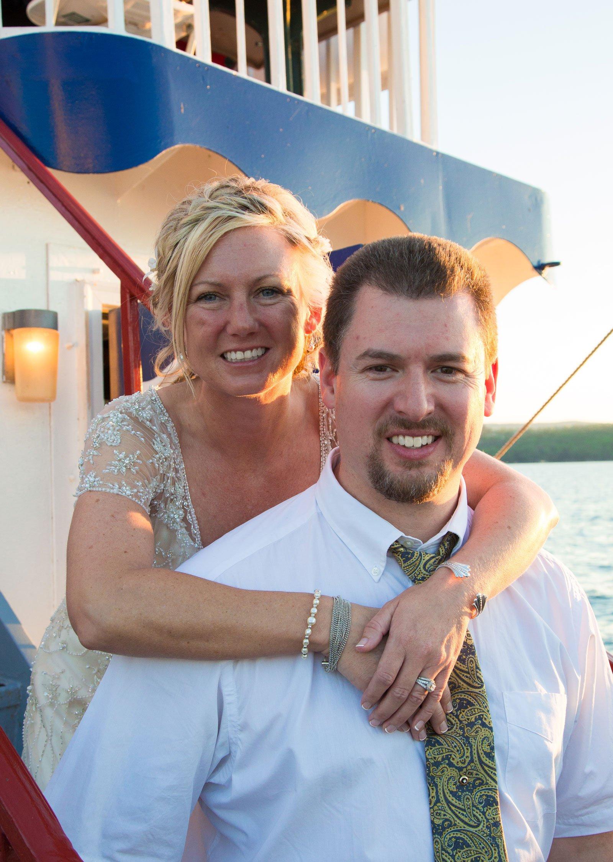 Canandaigua, NY Wedding Ceremony bride and groom pose