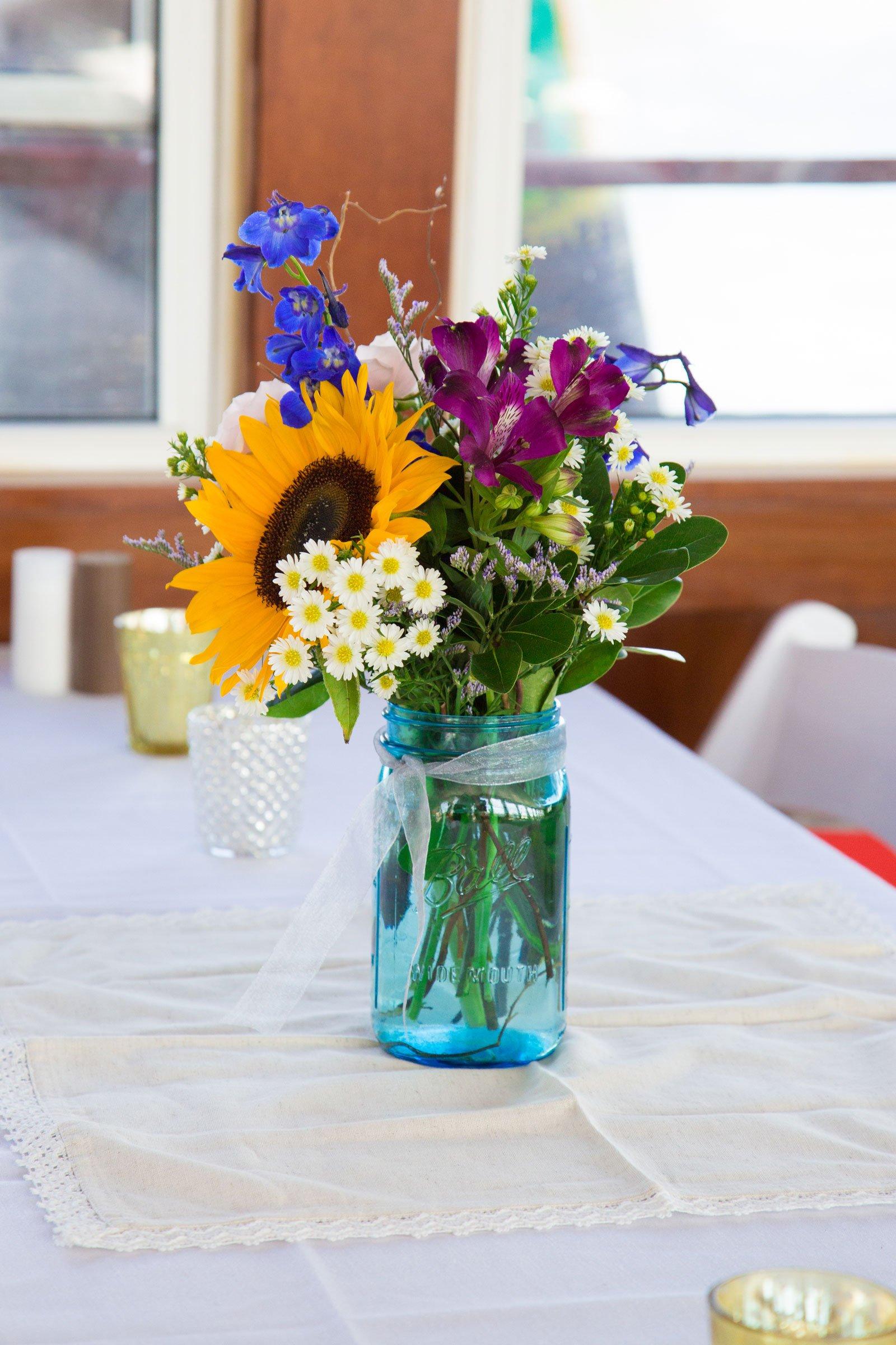 Canandaigua NY Wedding Ceremony Flowers