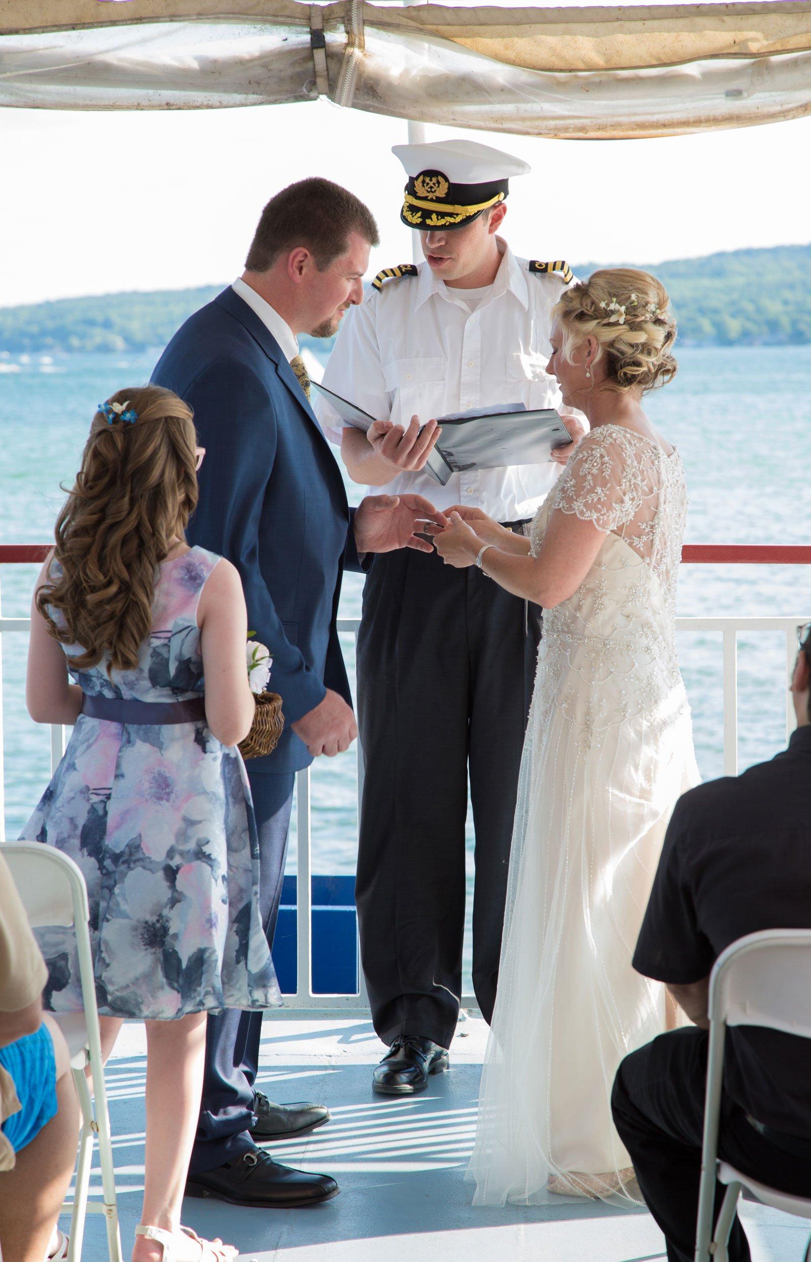 Canandaigua NY Wedding Ceremony wedding vows