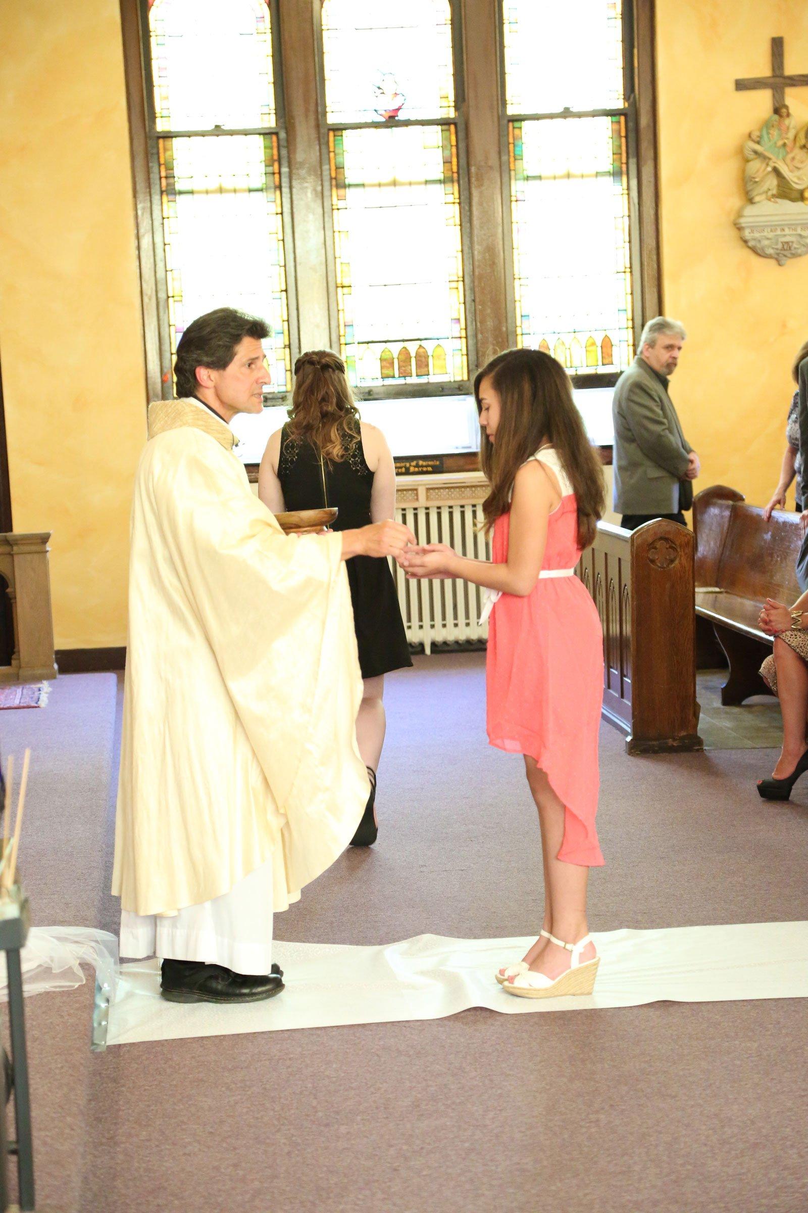 Buffalo, NY Wedding communion