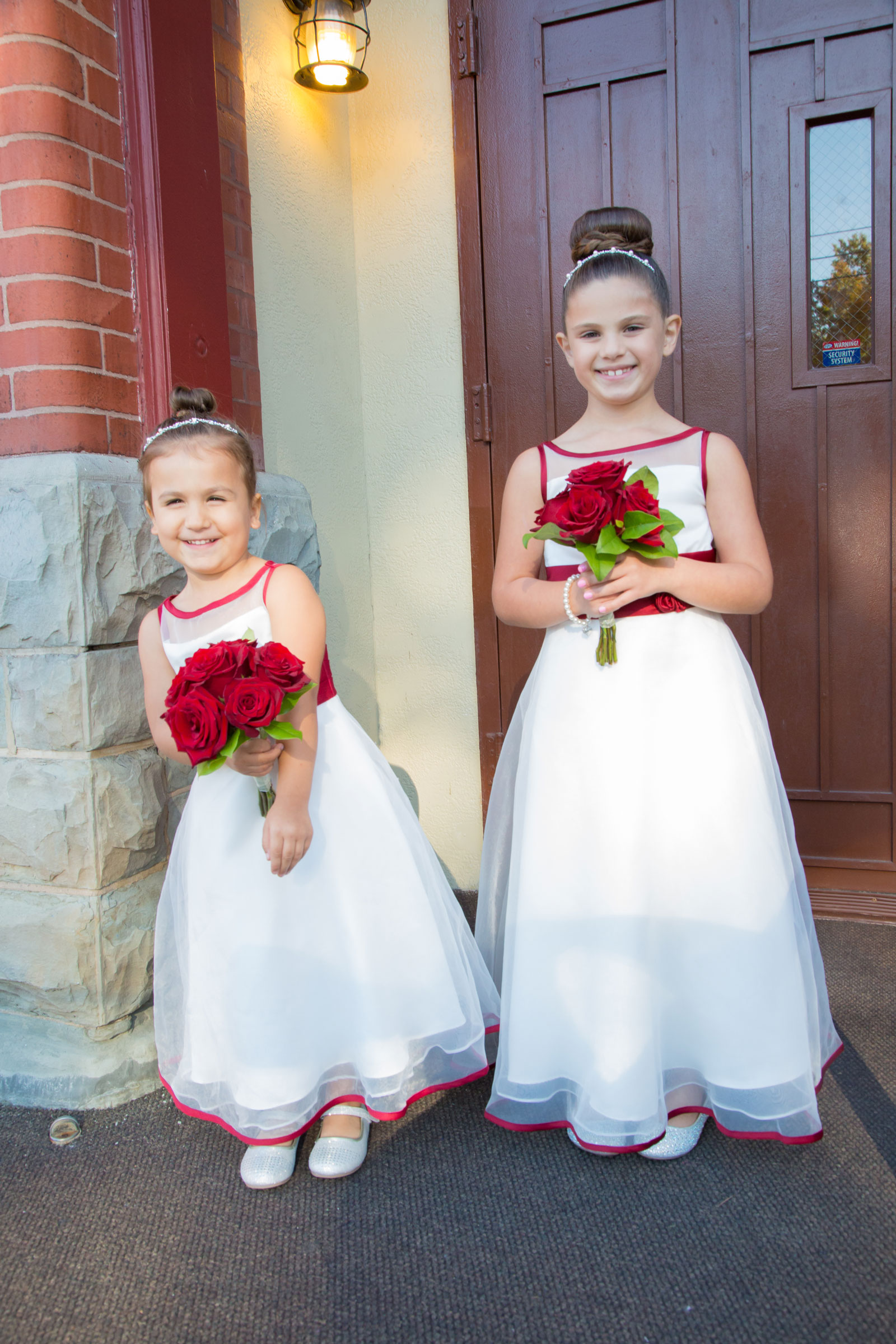 Lackawanna, NY Wedding flower girls