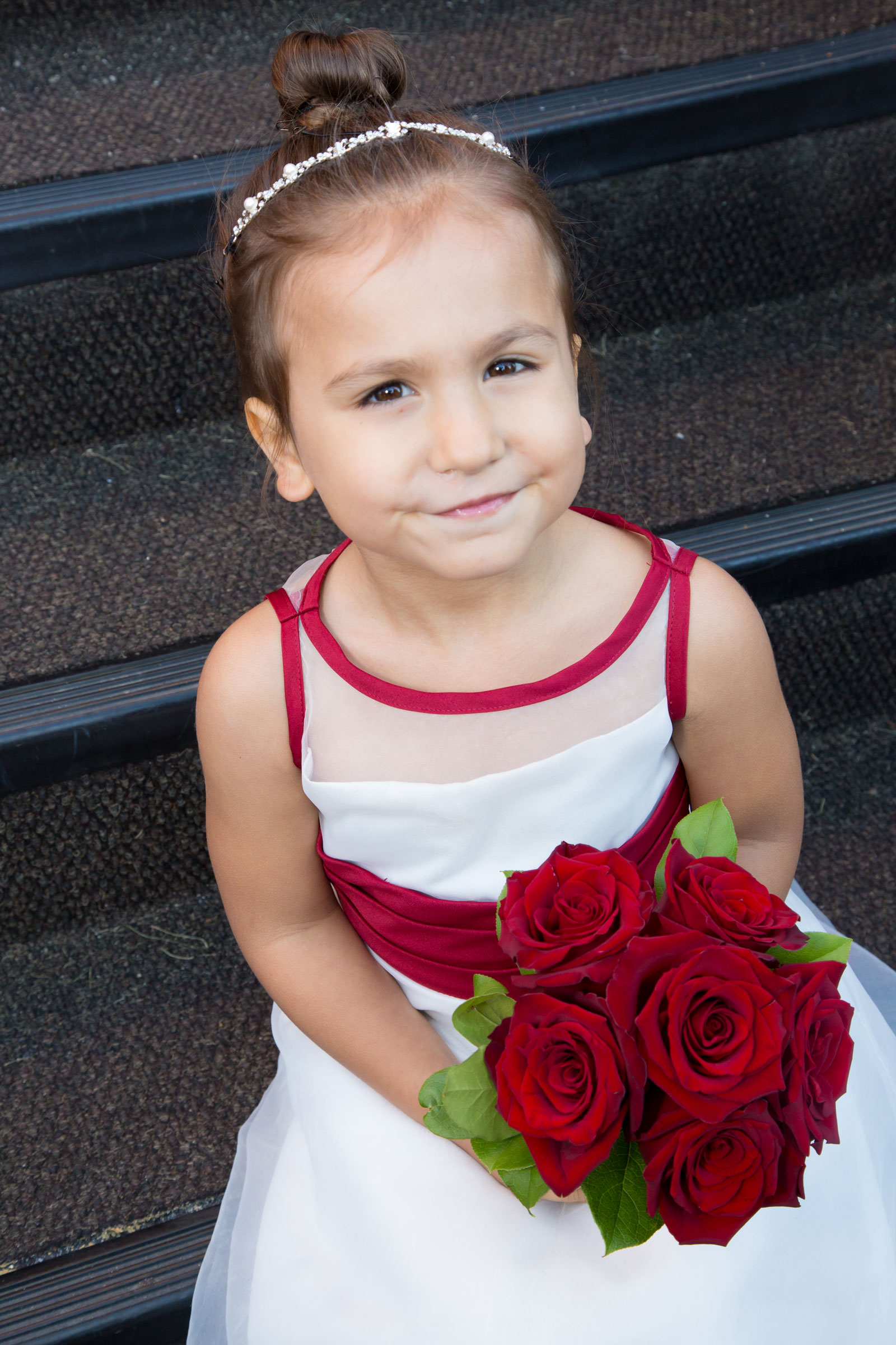 Lackawanna, NY Wedding flower girl