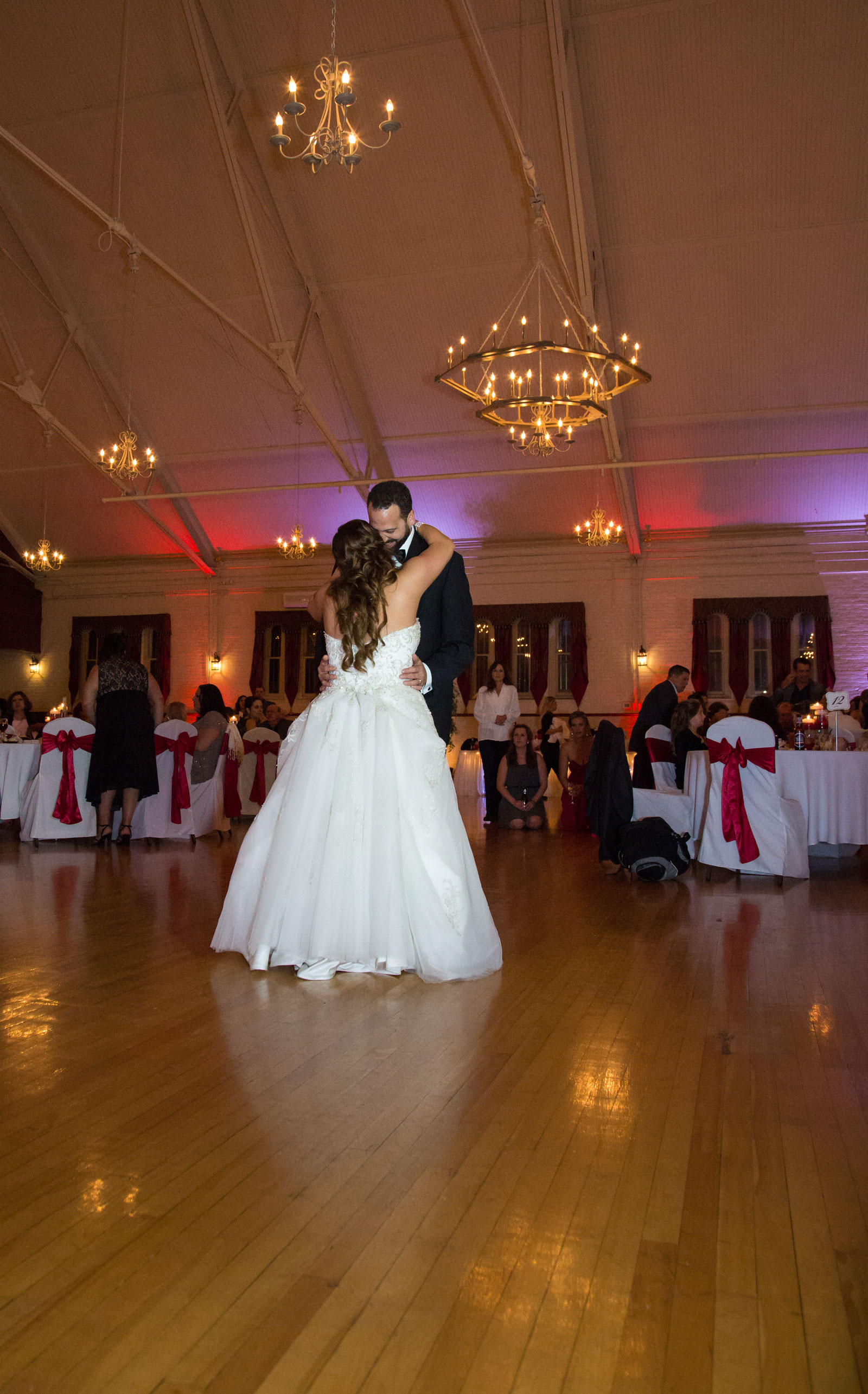 Lackawanna, NY Wedding bride groom first dance