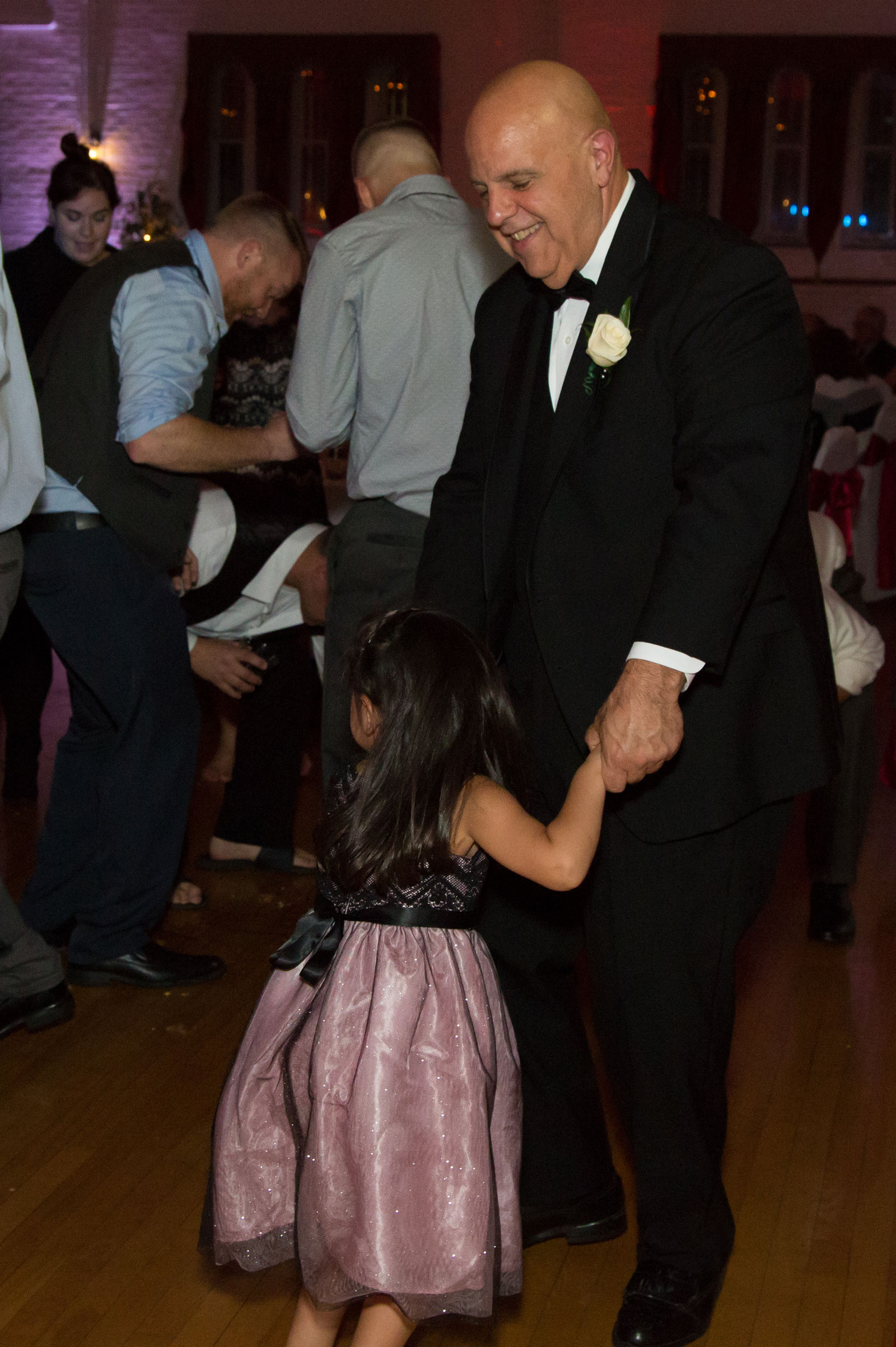 Lackawanna, NY Wedding gramps daughter dance