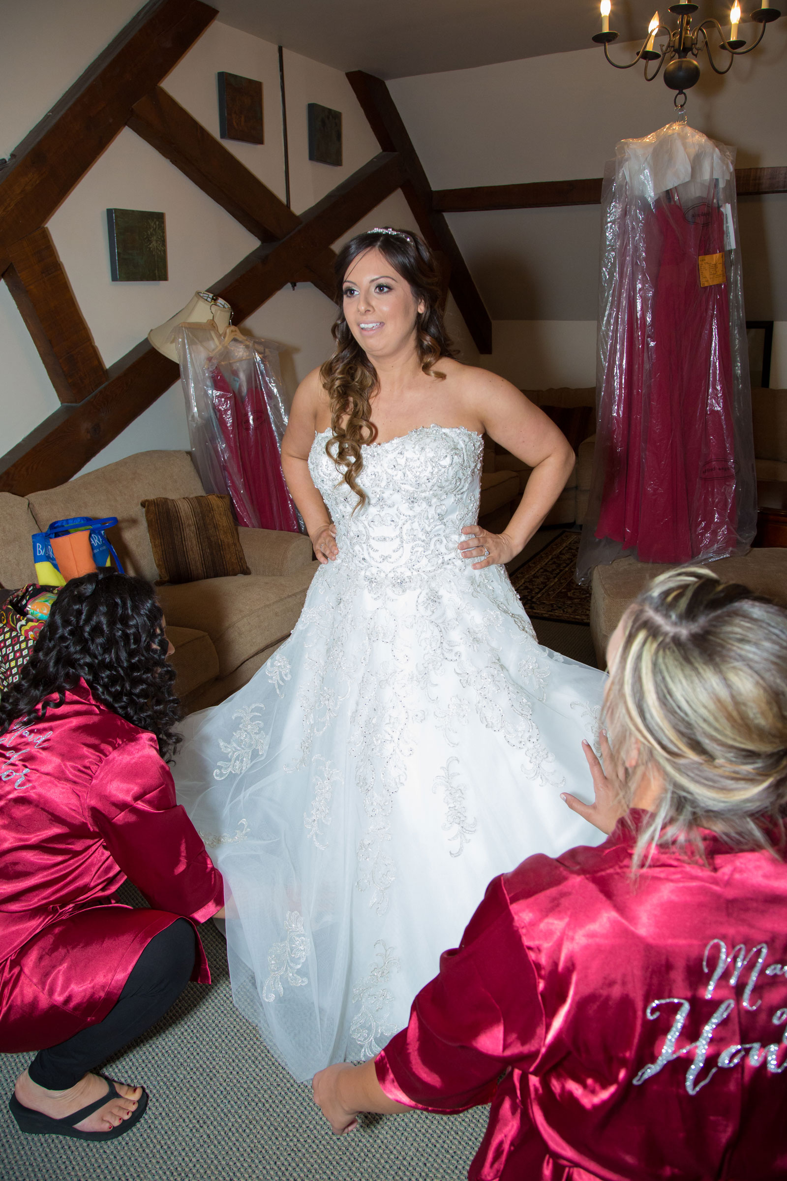 Lackawanna, NY Wedding bride is ready