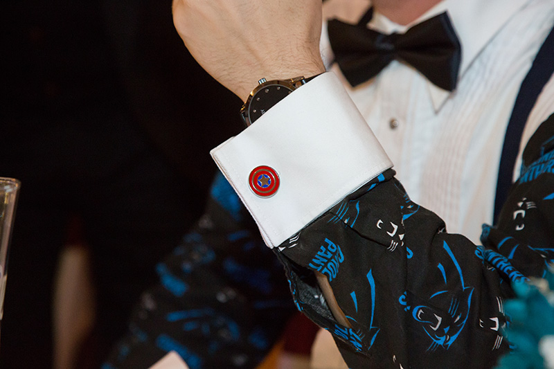 wedding tux cuff links
