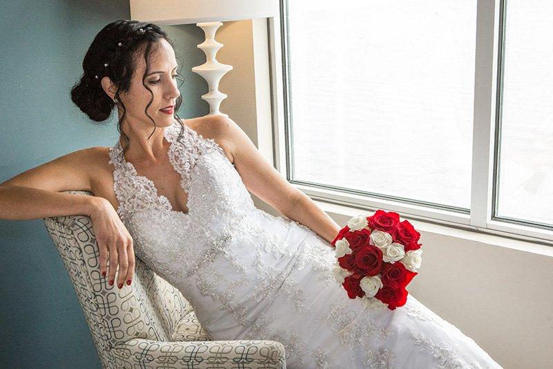 gorgeous wedding bride