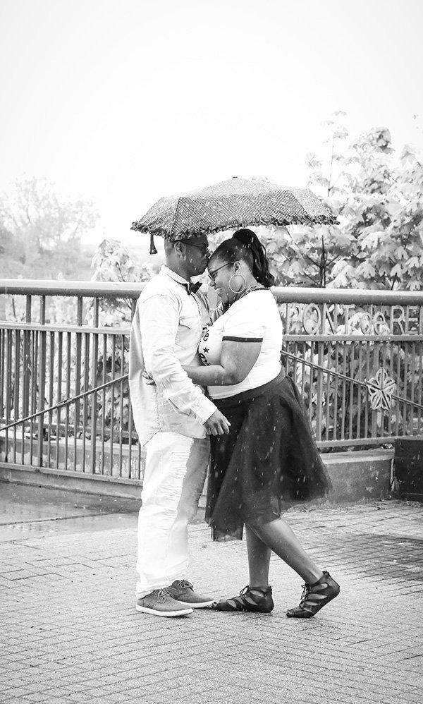 love under and umbrella
