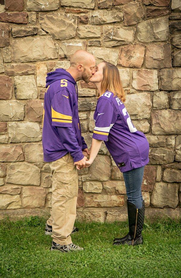 football jersey kiss