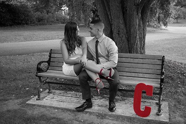 engagement C photo